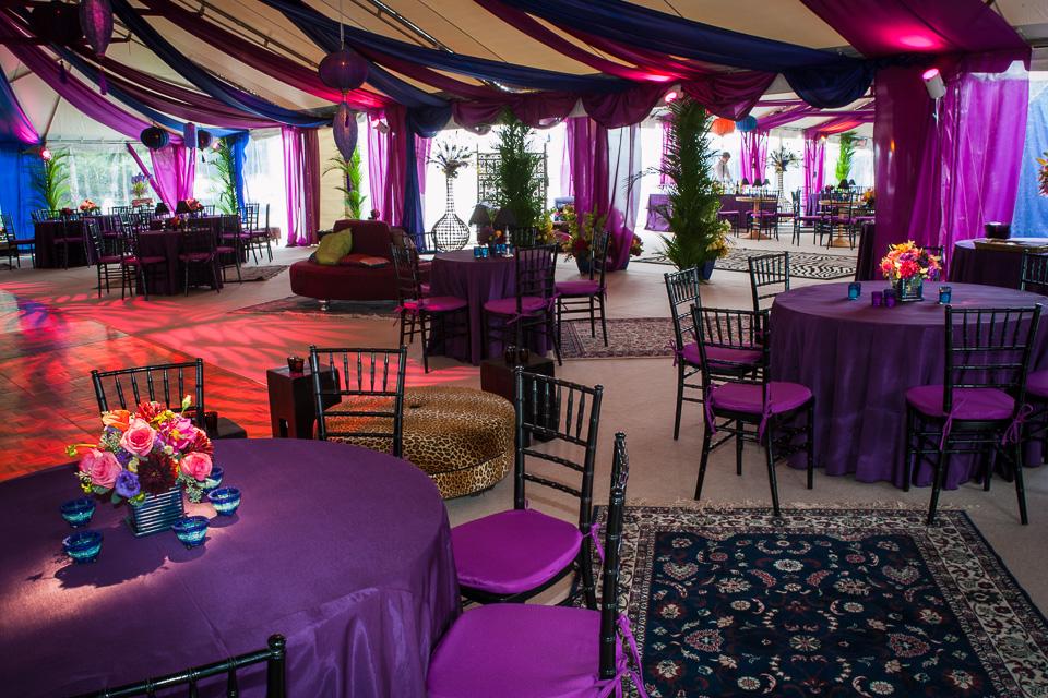 moroccan wedding tent